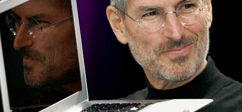 Utcát neveznek el Steve Jobsról