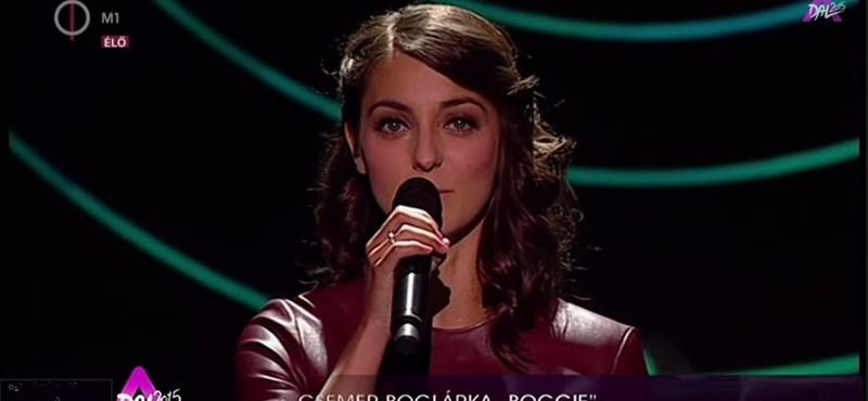Eurovízió: Tizedikként énekel május 19-én Csemer Boglárka