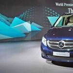 Mercedes V-osztály premier: ezt a kisbuszt már nem kell szégyellni