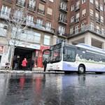 Fotók: Virágmintás, gázüzemű buszokat tesztel a BKV és a Volán