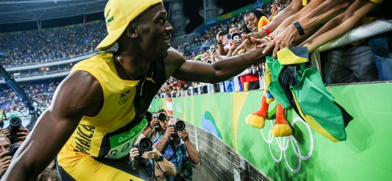 """Usain Bolt, az """"egyszerlassú"""" ember, aki egy háziért eltitkolta barátnőjét"""