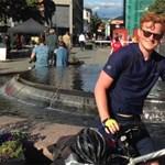 3800 kilómétert bicikliztek a világbajnokságra