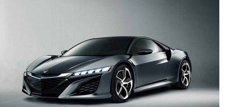 Lehet sorakozni a Honda új szuperautójáért