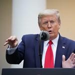Trump a WHO-ra mutogat, és leállítja a támogatását