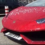 Videón a csillogó Lamborghini, amit még Vajna Tímea is megirigyelhet