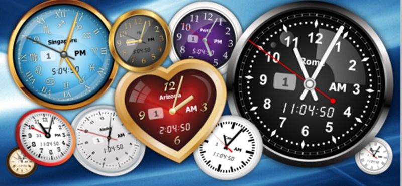 Tegyen látványos órát a képernyőjére!