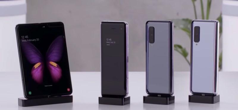 """Törli az összehajtható telefonra leadott rendeléseket a Samsung, és nem tudni, mikorra lesz """"kész"""" a Galaxy Fold"""