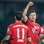 Kiütéses Bayern győzelem, a bajorok a tabella élen