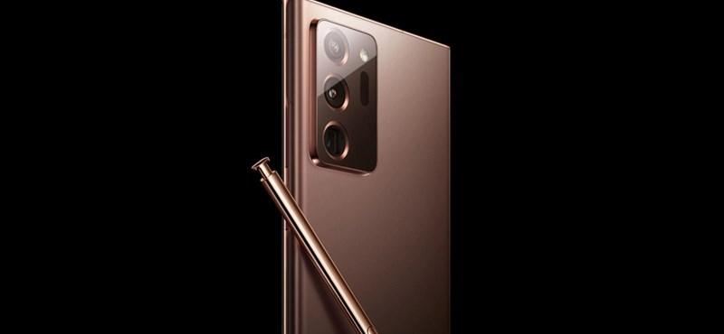 Kitett két képet a Samsung a weboldalára, gyanús, hogy a Galaxy Note20 Ultra van rajtuk