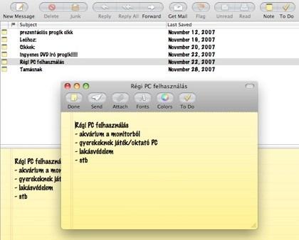 mailnote