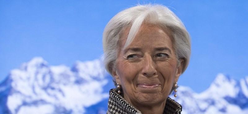 Karrierje csúcsára ért a nőként mindenben első Christine Lagarde