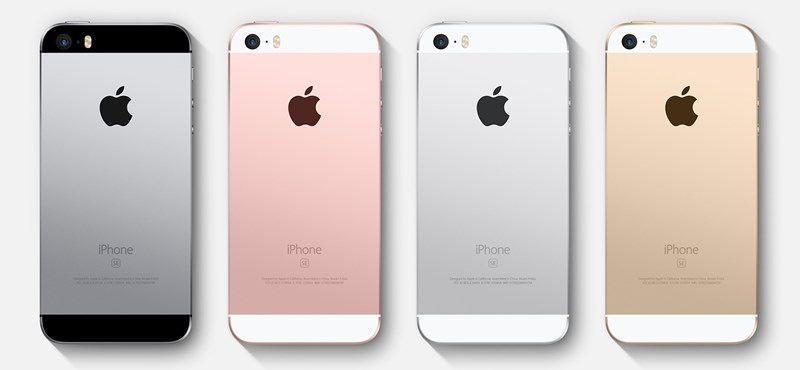 Itt vannak az olcsóbb, kisebb új iPhone magyar árai