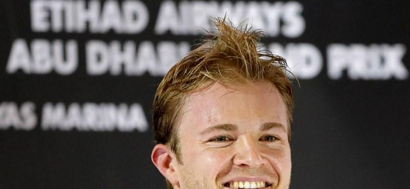 Rosbergnek gyerekkori álma vált ma valóra