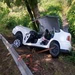 Képek jöttek a tatabányai halálos baleset helyszínéről