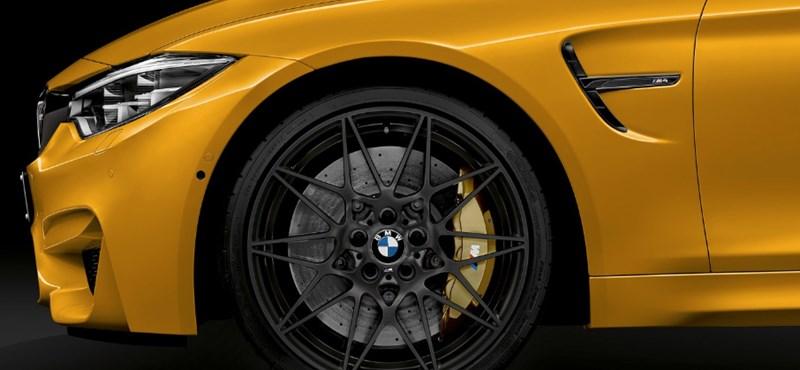 Gyönyörű limitált M4 kabriókkal születésnapozik a BMW