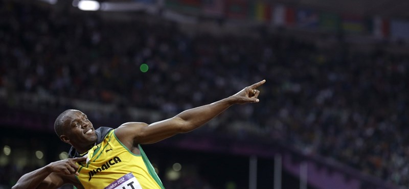 Bolt inkább lustálkodott az olimpia megnyitója helyett
