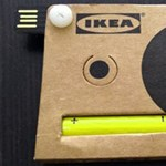 A nap kütyüje - IKEA, kartonpapír kamera, USB-vel