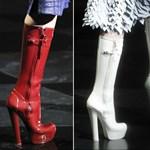 Őszi divat 2011: platform gumicsizma