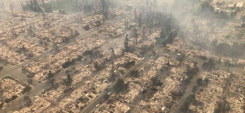 Körülölelte Los Angelest a tűz