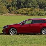 Árral szemben: teszten az új Mazda 6 sportkombi
