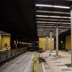 BKK: Vannak repedések a HÉV-alagútban, de nem terjednek