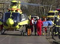 Súlyos sérültje van egy szarvasi balesetnek