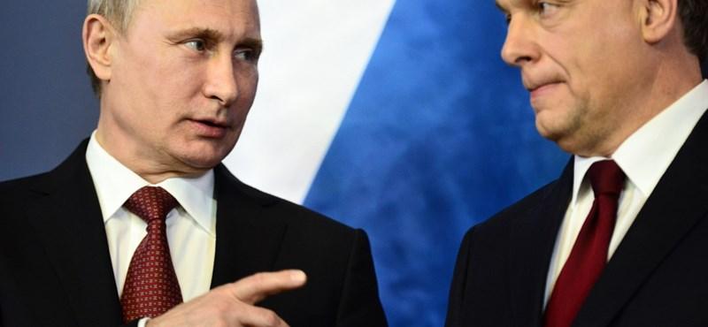Orbán 142 milliárdos üzletet vihet Putyinnak