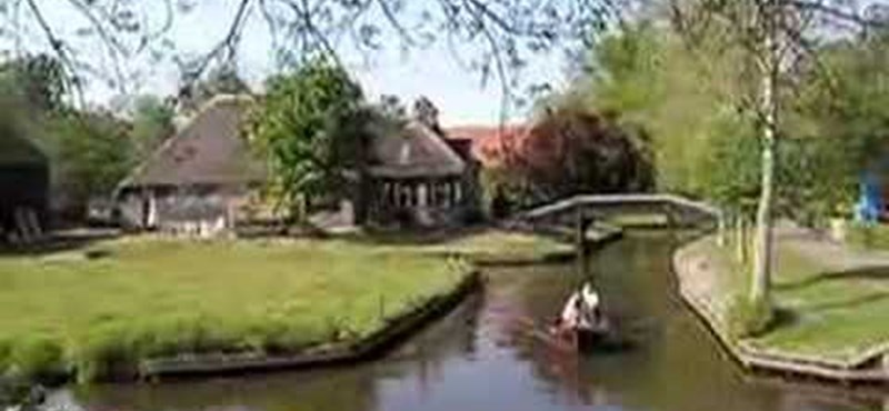 Videó: a csodálatos falu, ahol nincsenek utak