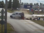 Nyolc baleset és mind ugyanott - tanulságos videót adott ki a rendőrség