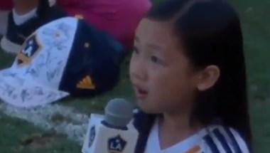 Elképesztő hangok jöttek ki ennek a hétéves kislánynak a torkából