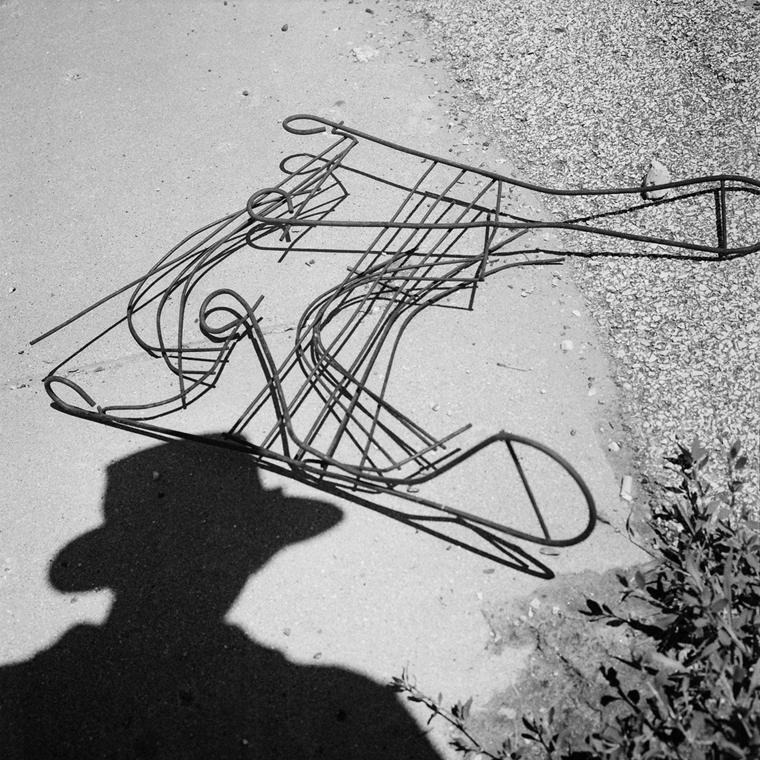 NE használd_! - Vivian Maier nagyítás - Önarckép, Chicago, d.n. (zselatinos ezüst, 2016)