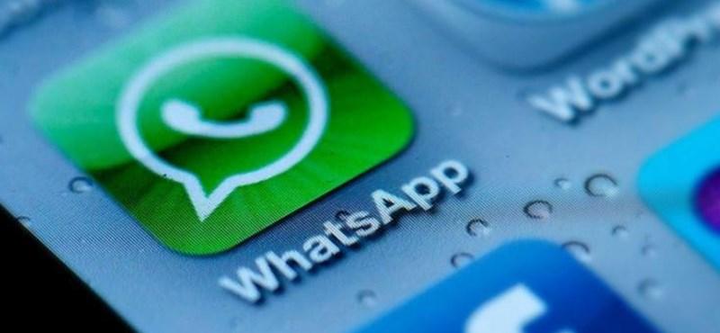 Frissítsen, ha még nem tette: veszélyben lehetnek a WhatsAppot használók