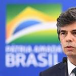 Egyetlen hónap után lemondott a brazil egészségügyi miniszter