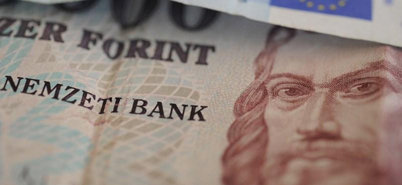 Stagnál a forint árfolyama