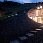 Luxusvilla a hegy gyomrában - szokatlan és lenyűgöző