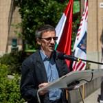 Kozmetikázta az MTI a Göncz Árpád-emléktábla avatásán elhangzott beszédet
