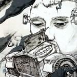 Street art percek: Liqen életre kelő autói
