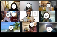 Vírusjárvány idején: közös online iszogatás