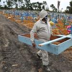 Brazília: Egy nap alatt 1200 halott és 42 ezer új fertőzött