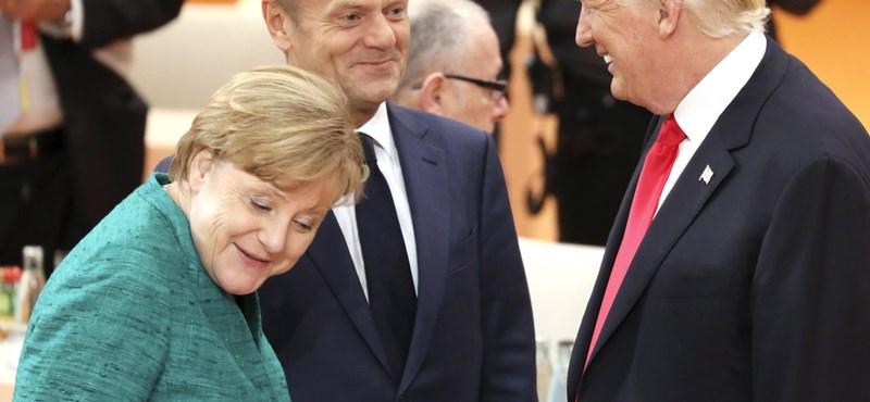 Trump nem siette el a gratulációt, csak most hívta fel Merkelt