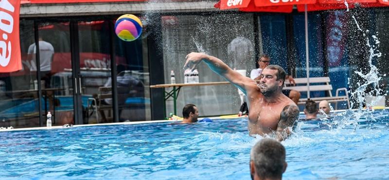 Galéria: A magyar férfi és női vízilabda-válogatott éremért utazik az olimpiára