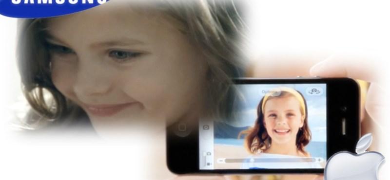 Ugyanaz a szinésznő a Samsung és az Apple reklámjaiban is