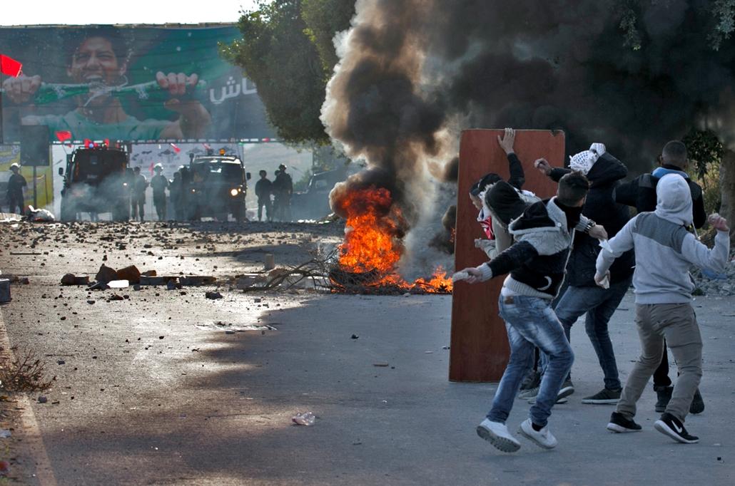 afp.17.12.09. - Tüntetés Izrael Jeruzsálem USA