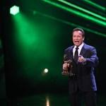 Megérkezett Arnold Schwarzenegger Budapestre
