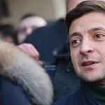 Az első exit pollok szerint Zelenszkij tönkreverte Porosenkót az ukrán elnökválasztáson