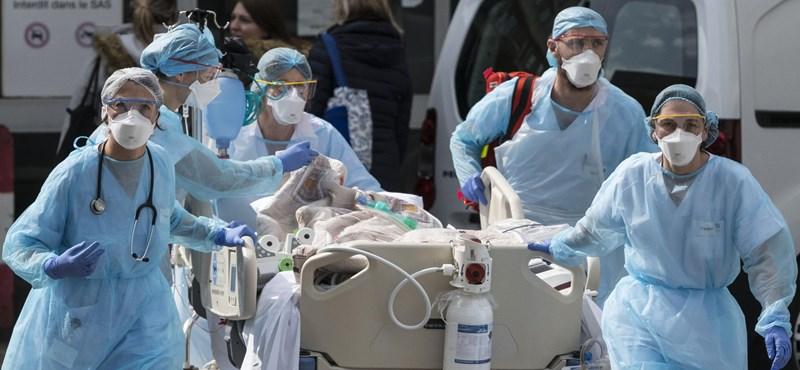 Egy nap alatt 881-en haltak meg a járványban az Egyesült Királyságban