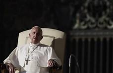 Ferenc pápa megbetegedett, lemondott egy misét is