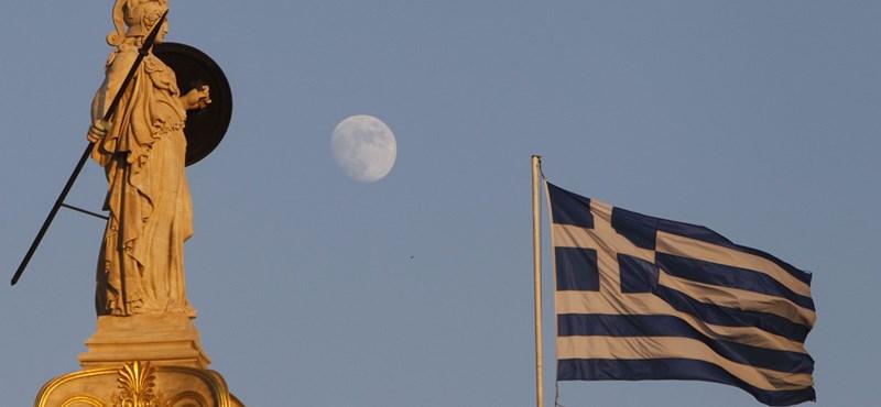 Leírhatják a görög adósság harmadát-negyedét