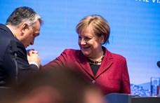 Hosszan elbeszélget Merkel és Orbán