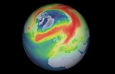 Továbbra is szokatlanul nagy ózonlyuk van az Északi-sark felett